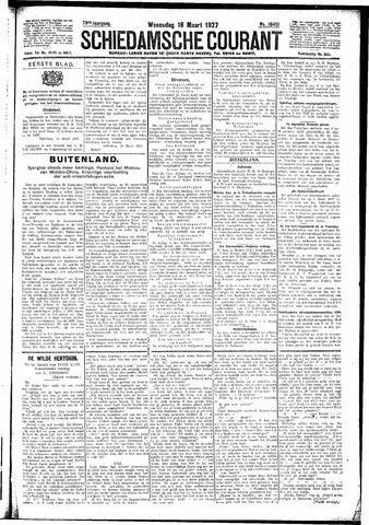 Schiedamsche Courant 1927-03-16