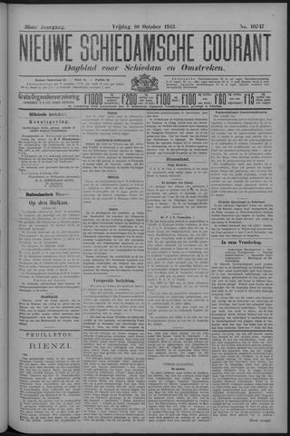 Nieuwe Schiedamsche Courant 1913-10-10