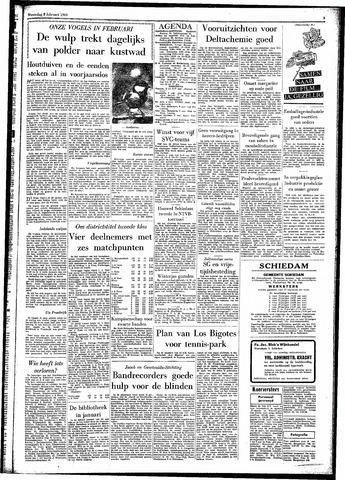 Rotterdamsch Parool / De Schiedammer 1961-02-08