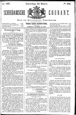 Schiedamsche Courant 1877-03-24