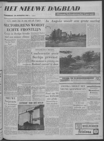 Nieuwe Schiedamsche Courant 1961-08-24