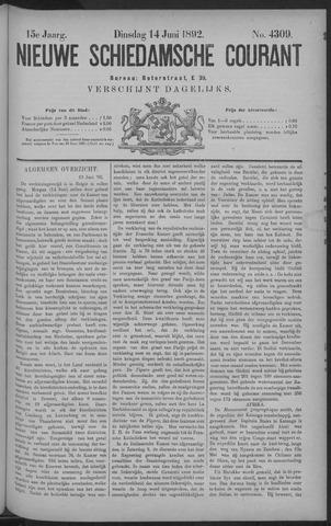 Nieuwe Schiedamsche Courant 1892-06-14