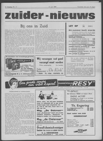 Zuider Nieuws 1963-06-13