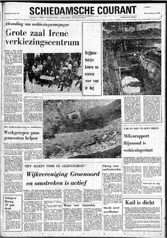 Rotterdamsch Nieuwsblad / Schiedamsche Courant / Rotterdams Dagblad / Waterweg / Algemeen Dagblad 1974-03-06