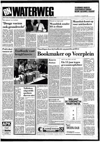Rotterdamsch Nieuwsblad / Schiedamsche Courant / Rotterdams Dagblad / Waterweg / Algemeen Dagblad 1987-11-12
