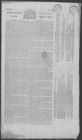 Rotterdamse Courant 1841-11-20