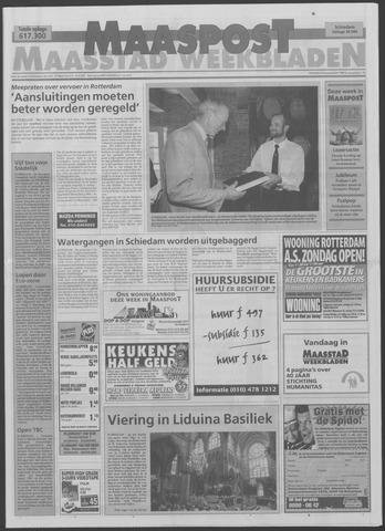 Maaspost / Maasstad / Maasstad Pers 1999-09-08