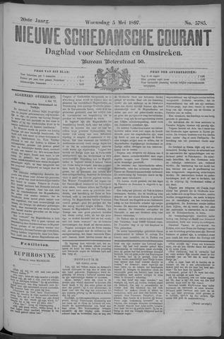 Nieuwe Schiedamsche Courant 1897-05-05