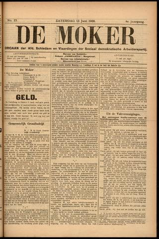 De Moker 1908-06-13