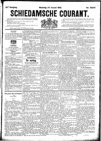 Schiedamsche Courant 1916-01-24
