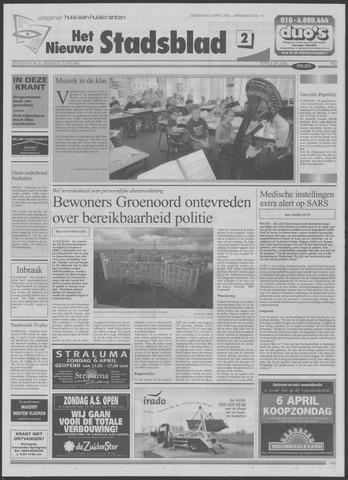 Het Nieuwe Stadsblad 2003-04-03