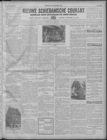 Nieuwe Schiedamsche Courant 1932-11-29