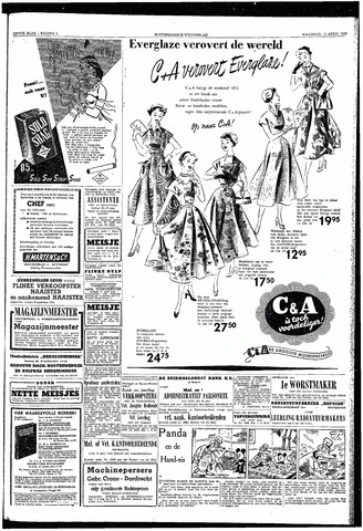 Rotterdamsch Nieuwsblad / Schiedamsche Courant / Rotterdams Dagblad / Waterweg / Algemeen Dagblad 1953-04-13