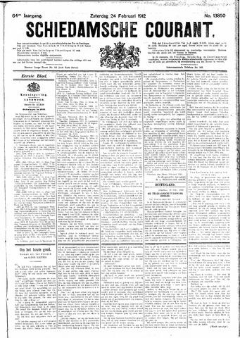 Schiedamsche Courant 1912-02-24