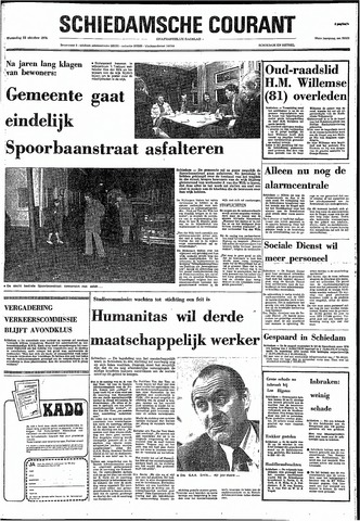 Rotterdamsch Nieuwsblad / Schiedamsche Courant / Rotterdams Dagblad / Waterweg / Algemeen Dagblad 1974-10-23