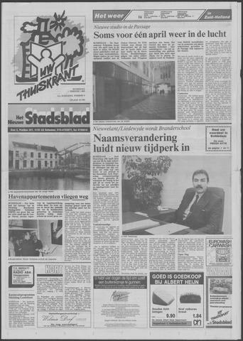 Het Nieuwe Stadsblad 1989-02-01