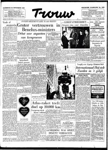 Trouw / De Rotterdammer 1958-11-29
