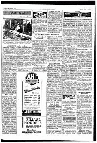 Rotterdamsch Nieuwsblad / Schiedamsche Courant / Rotterdams Dagblad / Waterweg / Algemeen Dagblad 1953-01-26