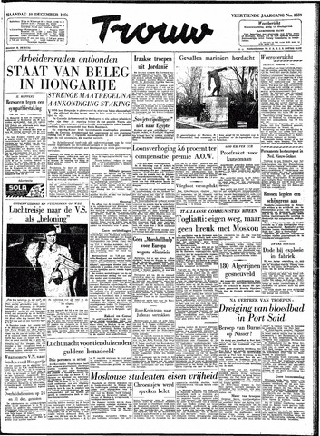 Trouw / De Rotterdammer 1956-12-10