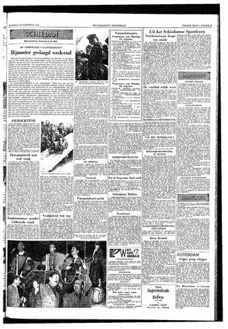 Rotterdamsch Nieuwsblad / Schiedamsche Courant / Rotterdams Dagblad / Waterweg / Algemeen Dagblad 1953-08-24