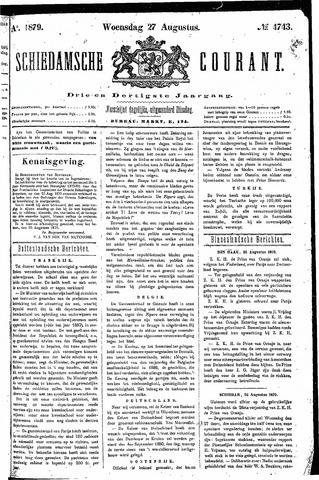 Schiedamsche Courant 1879-08-27