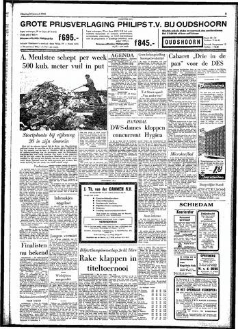 Rotterdamsch Parool / De Schiedammer 1962-01-23