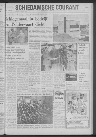 Rotterdamsch Nieuwsblad / Schiedamsche Courant / Rotterdams Dagblad / Waterweg / Algemeen Dagblad 1970-06-05