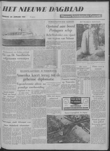 Nieuwe Schiedamsche Courant 1961-01-24