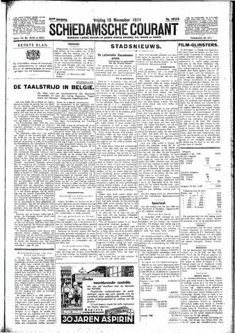 Schiedamsche Courant 1929-11-15
