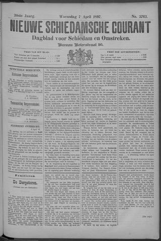 Nieuwe Schiedamsche Courant 1897-04-07