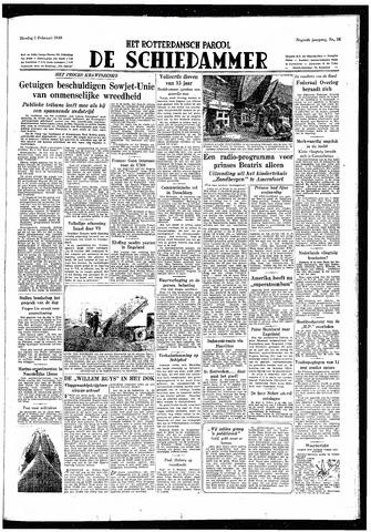 Rotterdamsch Parool / De Schiedammer 1949-02-01