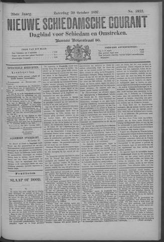 Nieuwe Schiedamsche Courant 1897-10-30