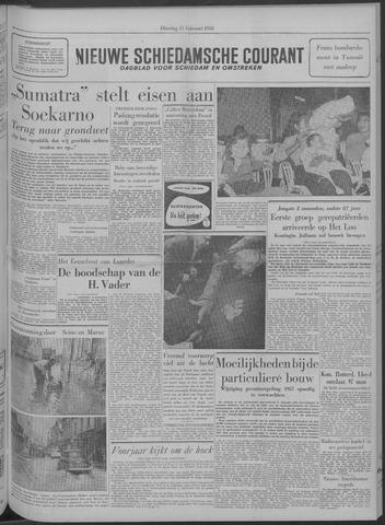Nieuwe Schiedamsche Courant 1958-02-11
