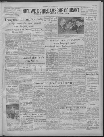 Nieuwe Schiedamsche Courant 1949-11-17