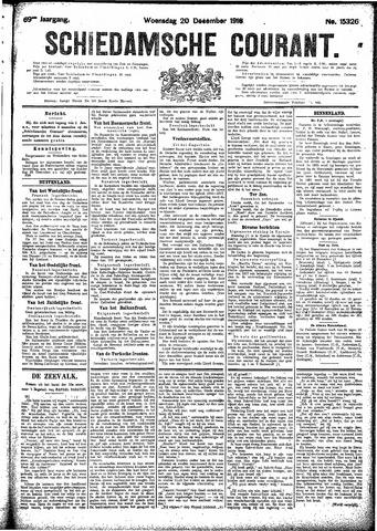 Schiedamsche Courant 1916-12-20