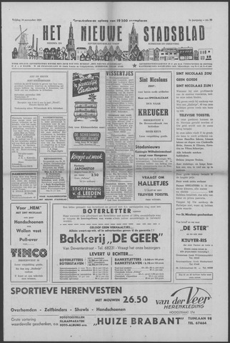 Het Nieuwe Stadsblad 1956-11-30