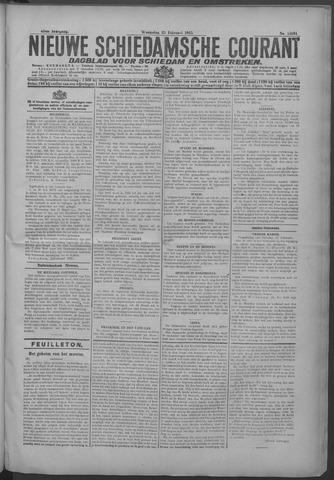 Nieuwe Schiedamsche Courant 1925-02-25