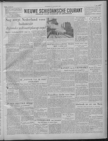 Nieuwe Schiedamsche Courant 1949-08-25
