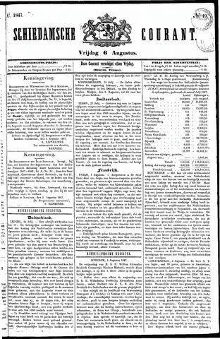 Schiedamsche Courant 1847-08-06