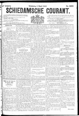 Schiedamsche Courant 1908-03-04