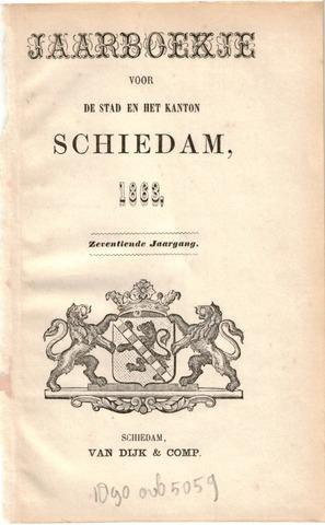 Schiedams Jaarboek 1863-01-01