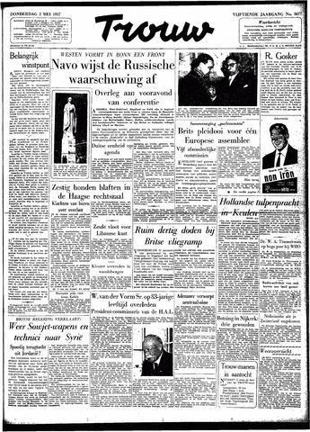 Trouw / De Rotterdammer 1957-05-02