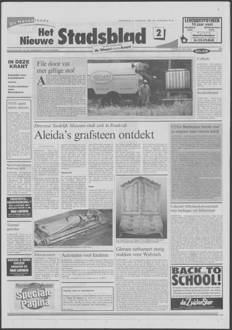 Het Nieuwe Stadsblad 1998-08-27
