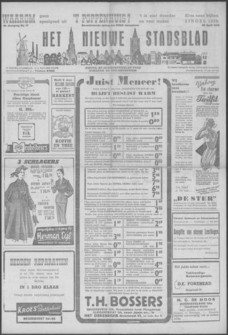 Het Nieuwe Stadsblad 1952-04-25