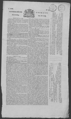 Rotterdamse Courant 1835-07-30