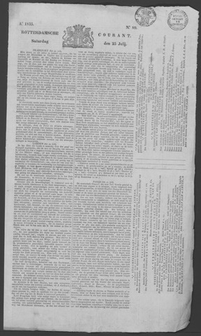 Rotterdamse Courant 1835-07-25