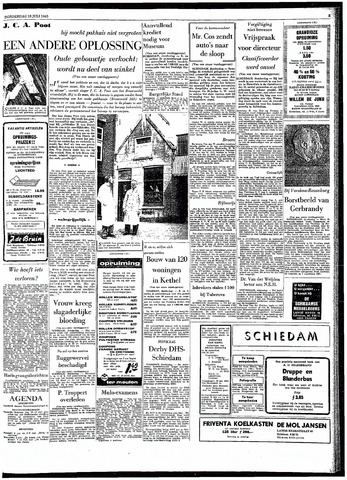 Rotterdamsch Parool / De Schiedammer 1963-07-18