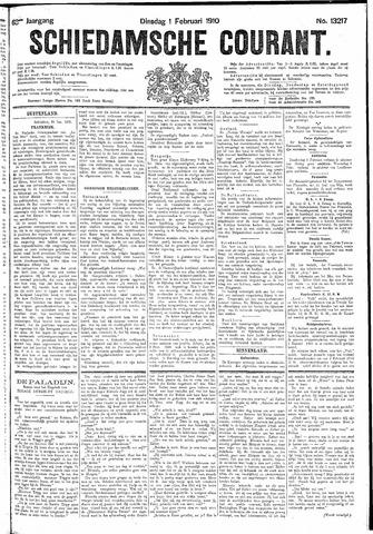 Schiedamsche Courant 1910-02-01