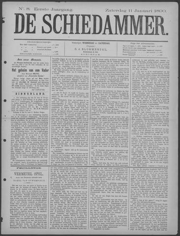 De Schiedammer 1890-01-11
