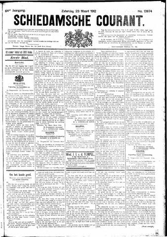 Schiedamsche Courant 1912-03-23